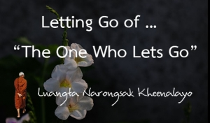 """Letting Go of ... """"The One Who Lets Go"""""""