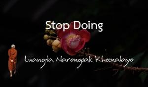 Stop Doing