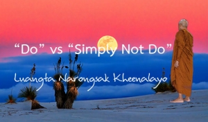 """""""Do"""" vs """"Simply Not Do"""""""